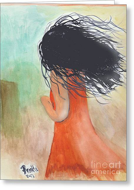 Windy Beginnings Greeting Card by Frank Williams