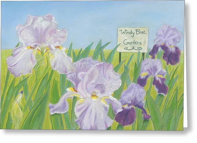 Windy Brae Gardens Greeting Card