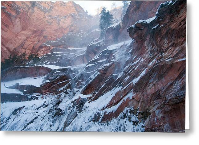 West Fork Windy Winter Greeting Card