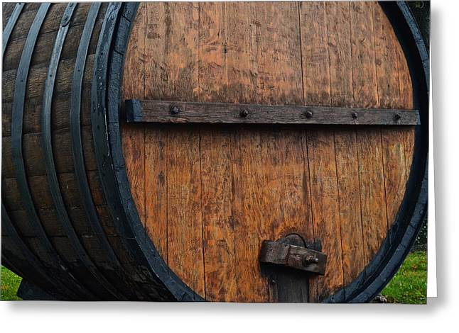Wine Aplenty Greeting Card by Frozen in Time Fine Art Photography