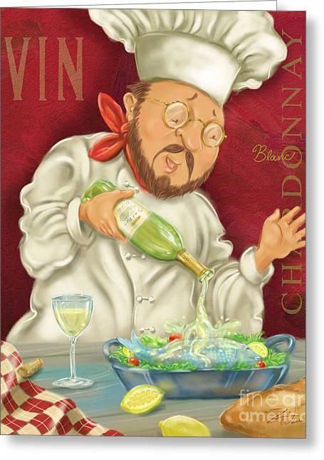 Wine Chef IIi Greeting Card