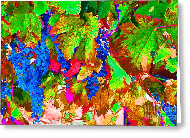 Greeting Card featuring the photograph Wine In Time by David Lawson