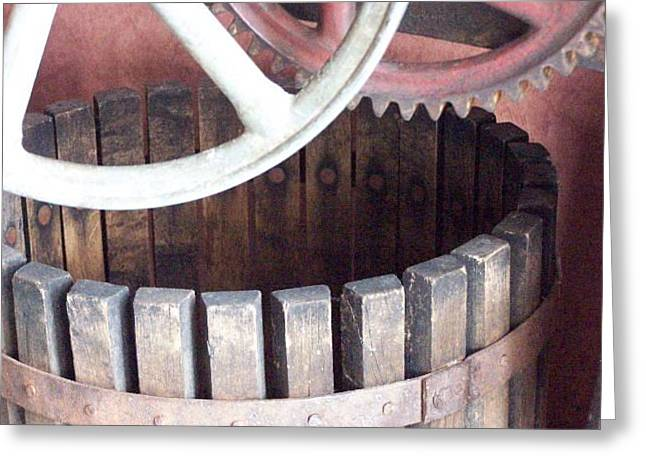 Wine Press For Sale Greeting Card