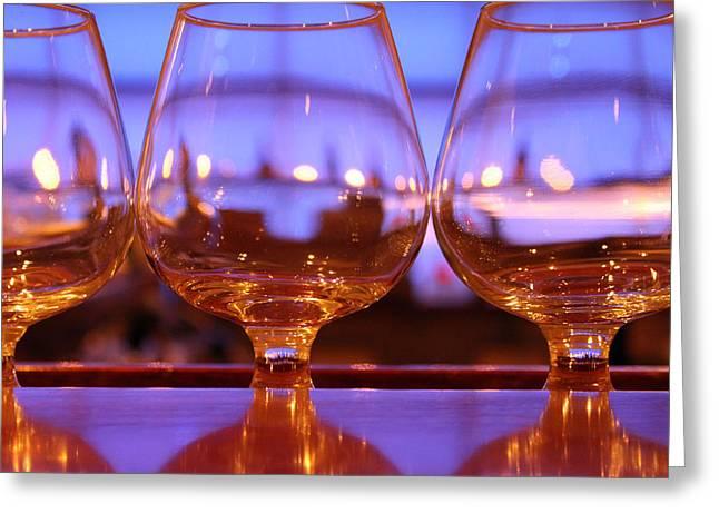 Wine Greeting Card by Stephanie Leidolph