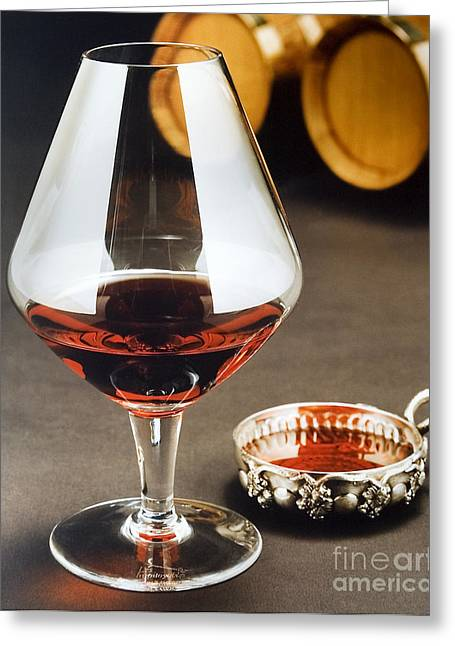 Wine Tasting Greeting Card by Jerry McElroy