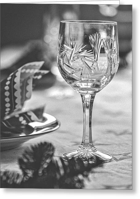 Wineglass Greeting Card