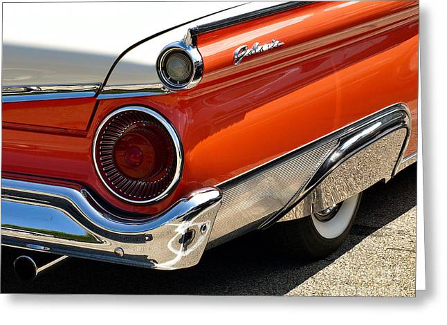 Wing And A Skirt - 1959 Ford Greeting Card