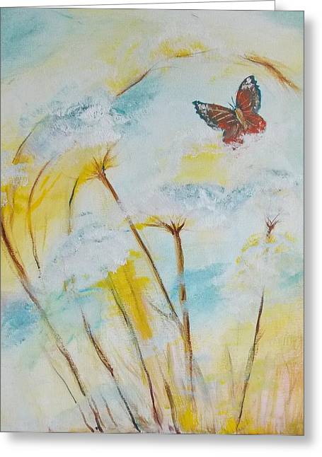 Winged Flight Greeting Card