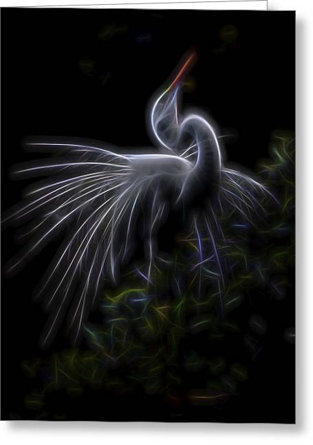 Winged Romance 2 Greeting Card by William Horden