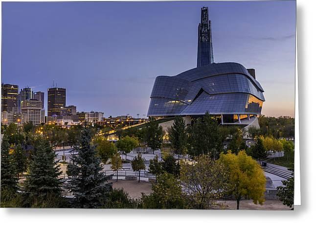 Winnipeg Dawn Greeting Card