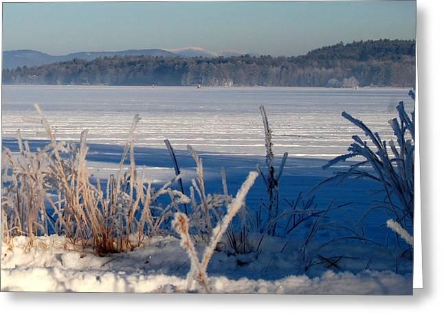 Winnisquam Winter Greeting Card