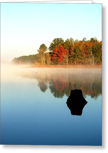 Winnsboro Reservoir-1 Greeting Card