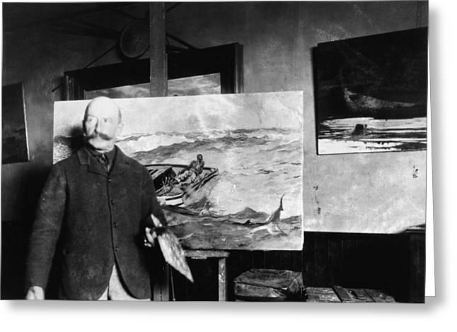 Winslow Homer (1836-1910) Greeting Card