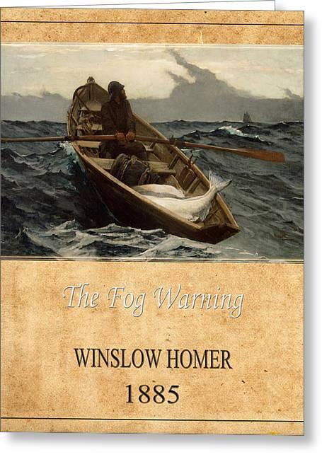 Winslow Homer 4 Greeting Card