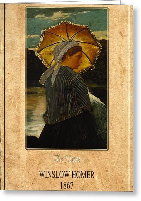 Winslow Homer 6 Greeting Card