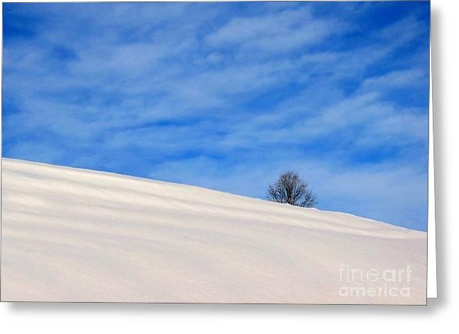 Winter 1 Greeting Card by Vassilis Tagoudis