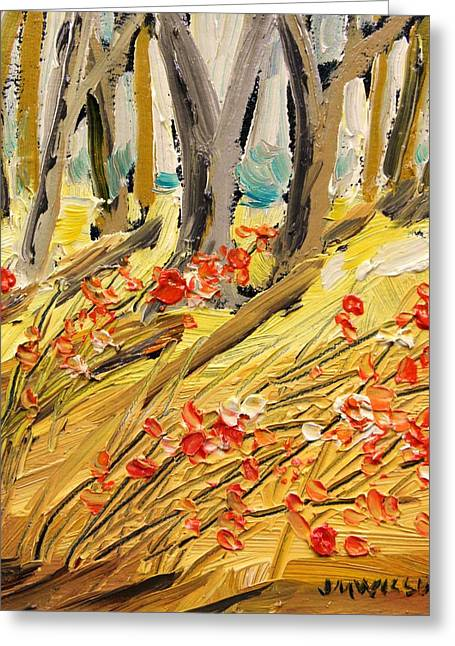 Winter Berries Greeting Card by John Williams