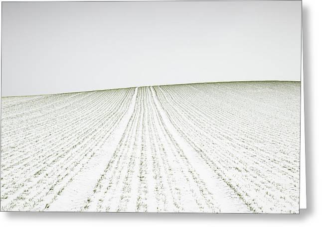 Winter Crop Greeting Card