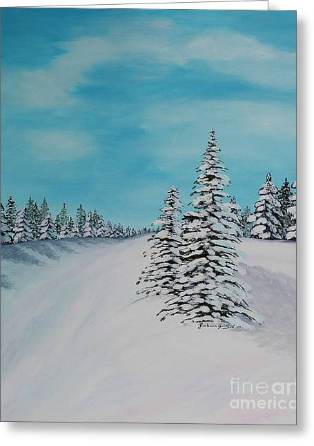 Winter Day In The Country Greeting Card