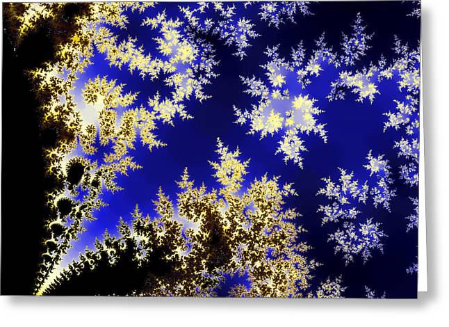 Winter Evening Greeting Card by Sylvia Thornton
