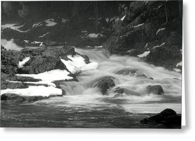 Winter Falls Greeting Card