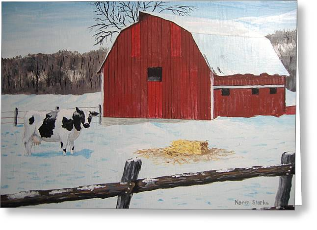 Winter Haven Greeting Card by Norm Starks