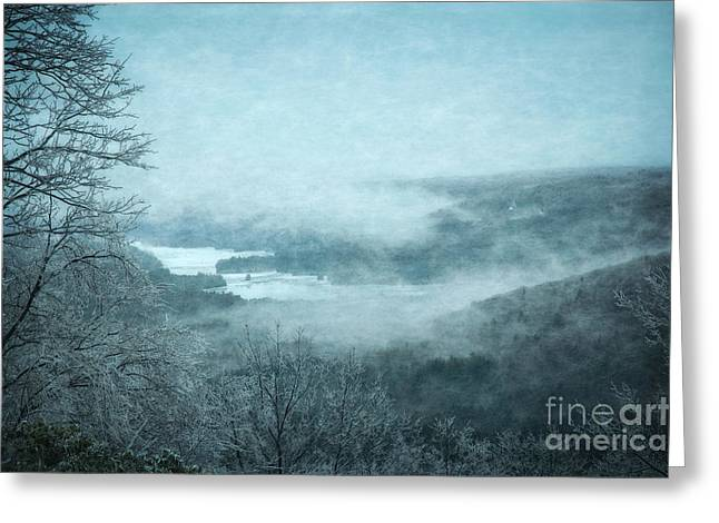 Winter Greeting Card by HD Connelly