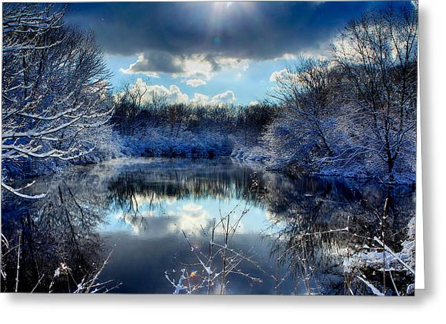 Winter In April 2014 Greeting Card by Jerome Lynch