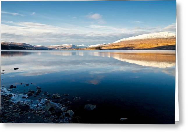 Greeting Card featuring the photograph Winter In Glencoe by Stephen Taylor