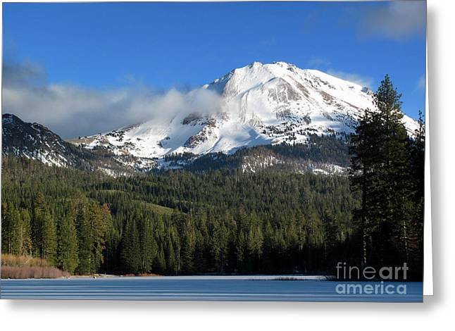 Winter In Lassen National Park Greeting Card by Irina Hays