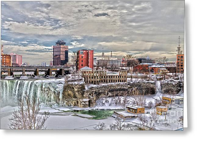 Winter In Rochester Greeting Card