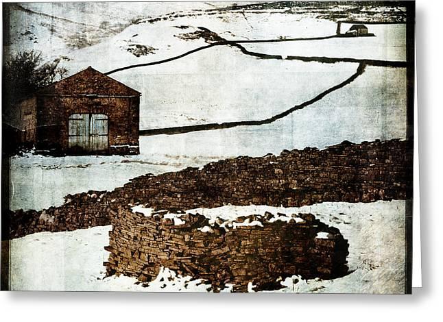 Winter Landscape 2 Greeting Card by Mark Preston