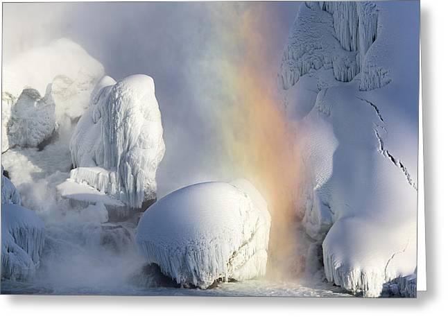 Winter Magic In Niagara Greeting Card