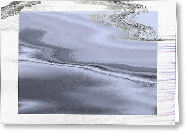 Winter Marble Greeting Card