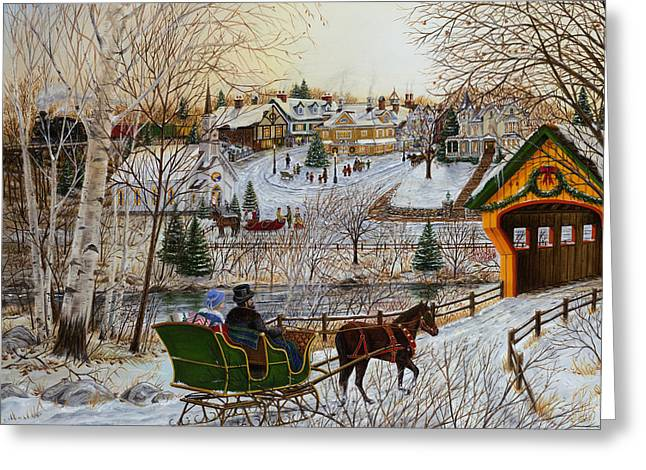 Winter Memories 1 Of 2 Greeting Card by Doug Kreuger