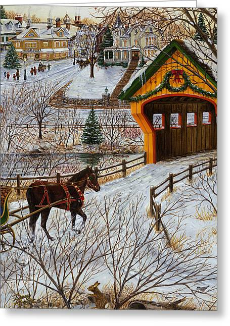 Winter Memories 2 Of 4 Greeting Card by Doug Kreuger