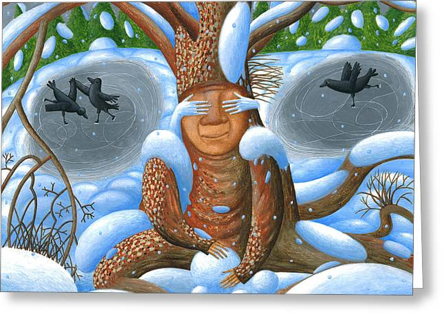 Winter. Nook Greeting Card