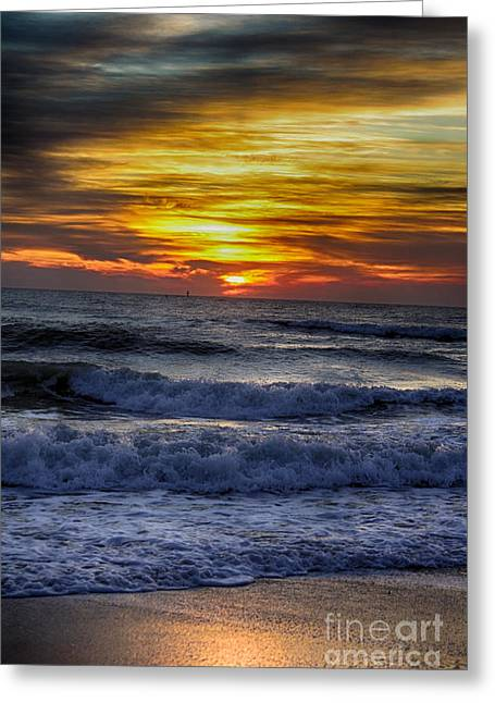 Winter North Carolina Sunrise Greeting Card