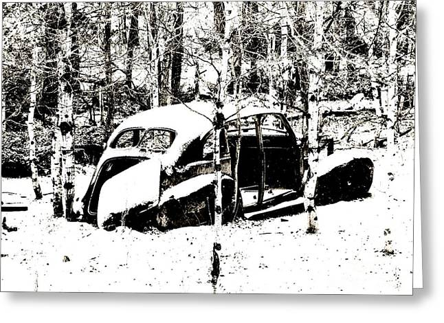 Winter Olds Greeting Card