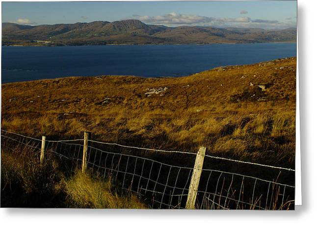 Winter On Bantry Bay Greeting Card