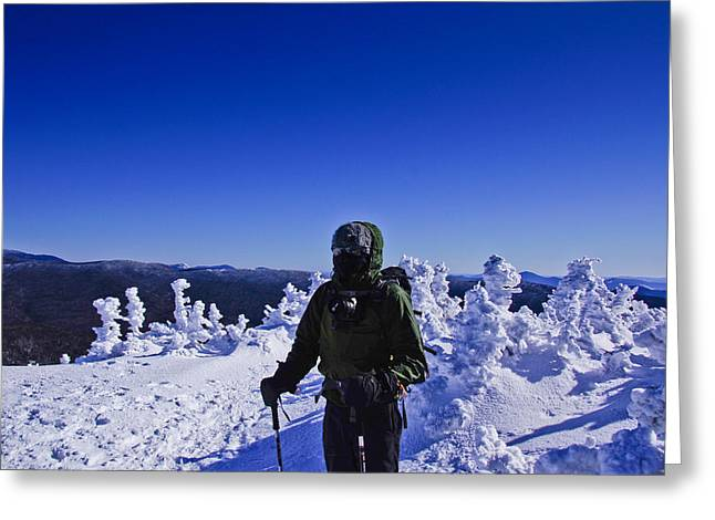 Winter On Mt Jackson Greeting Card