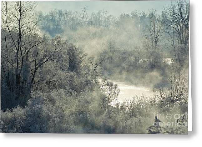 Winter Pastorale I Greeting Card by Jessie Parker