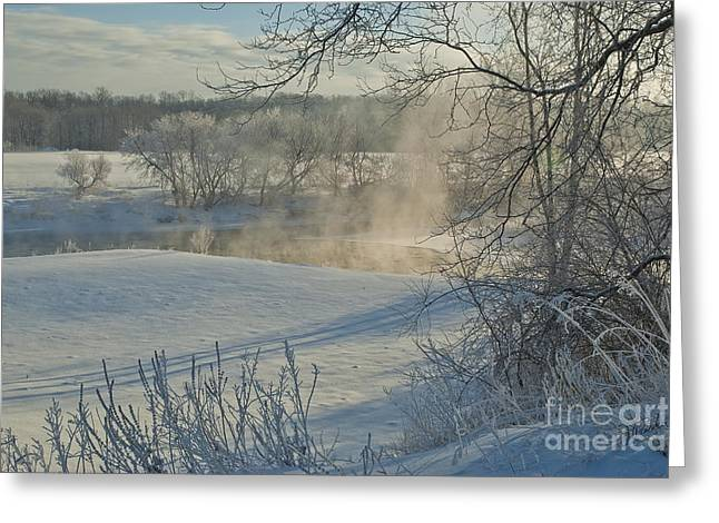 Winter Pastorale II Greeting Card by Jessie Parker