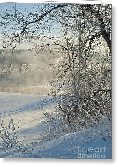 Winter Pastorale IIi Greeting Card by Jessie Parker