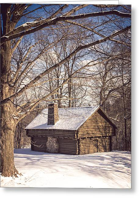 Winter Retreat Greeting Card