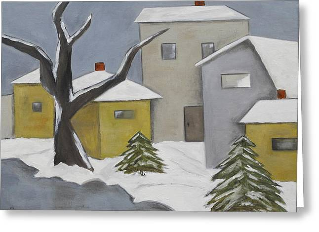 Winter Silence Greeting Card by Trish Toro