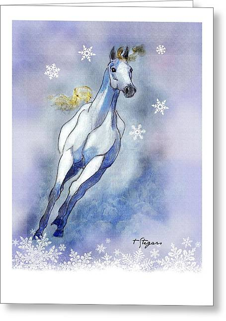 Winter Skye Greeting Card
