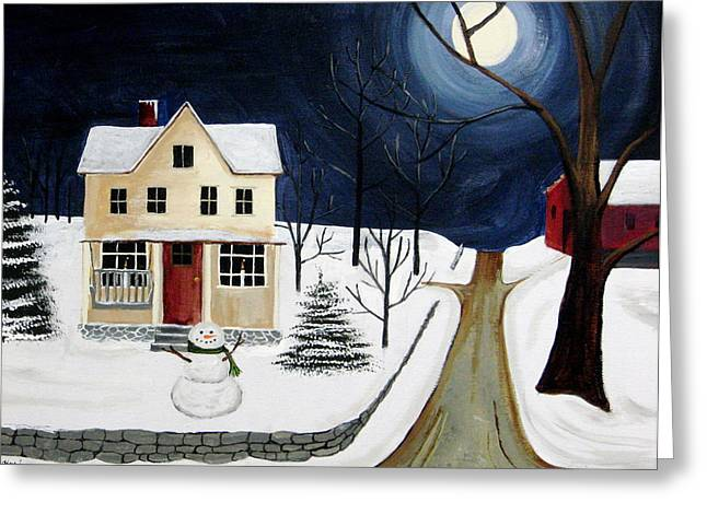 Winter Solo Greeting Card by Kori Vincent