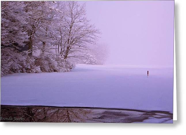 Greeting Card featuring the photograph Winter Solstice by Brenda Jacobs
