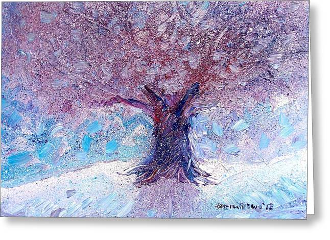 Winter Solstice Greeting Card by Shana Rowe Jackson